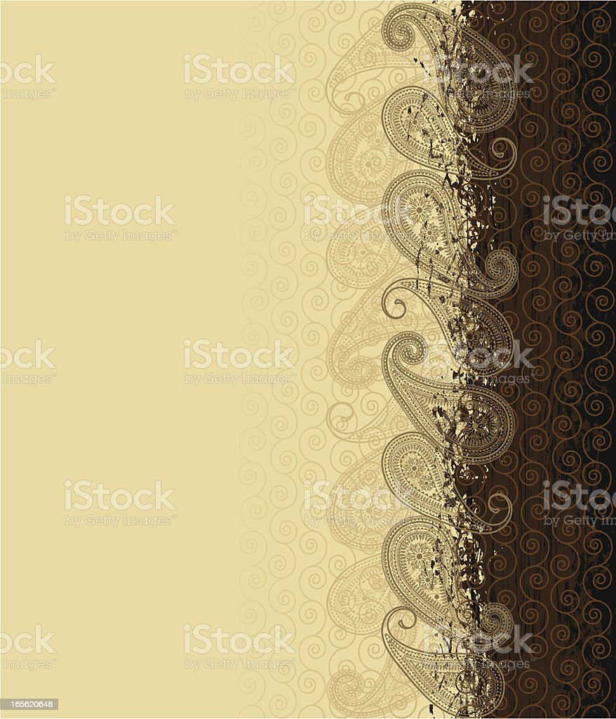 Paisley background . royalty-free stock vector art