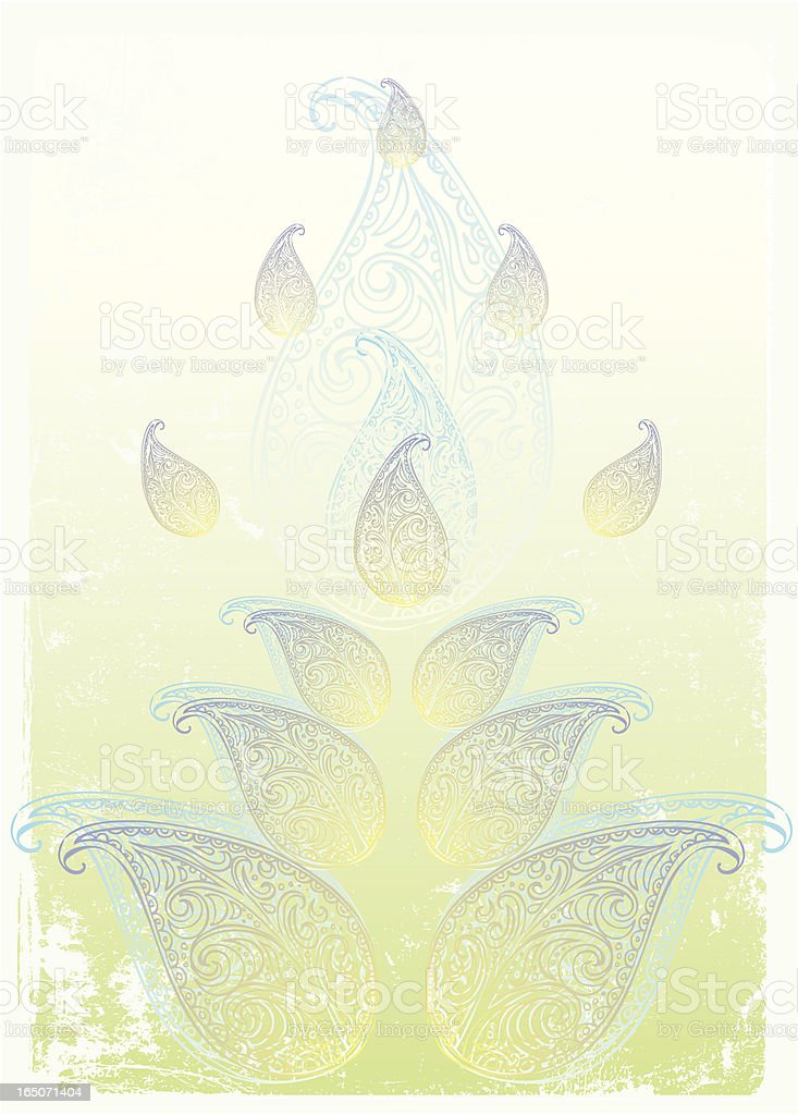 paisley-Leidenschaft Lizenzfreies vektor illustration