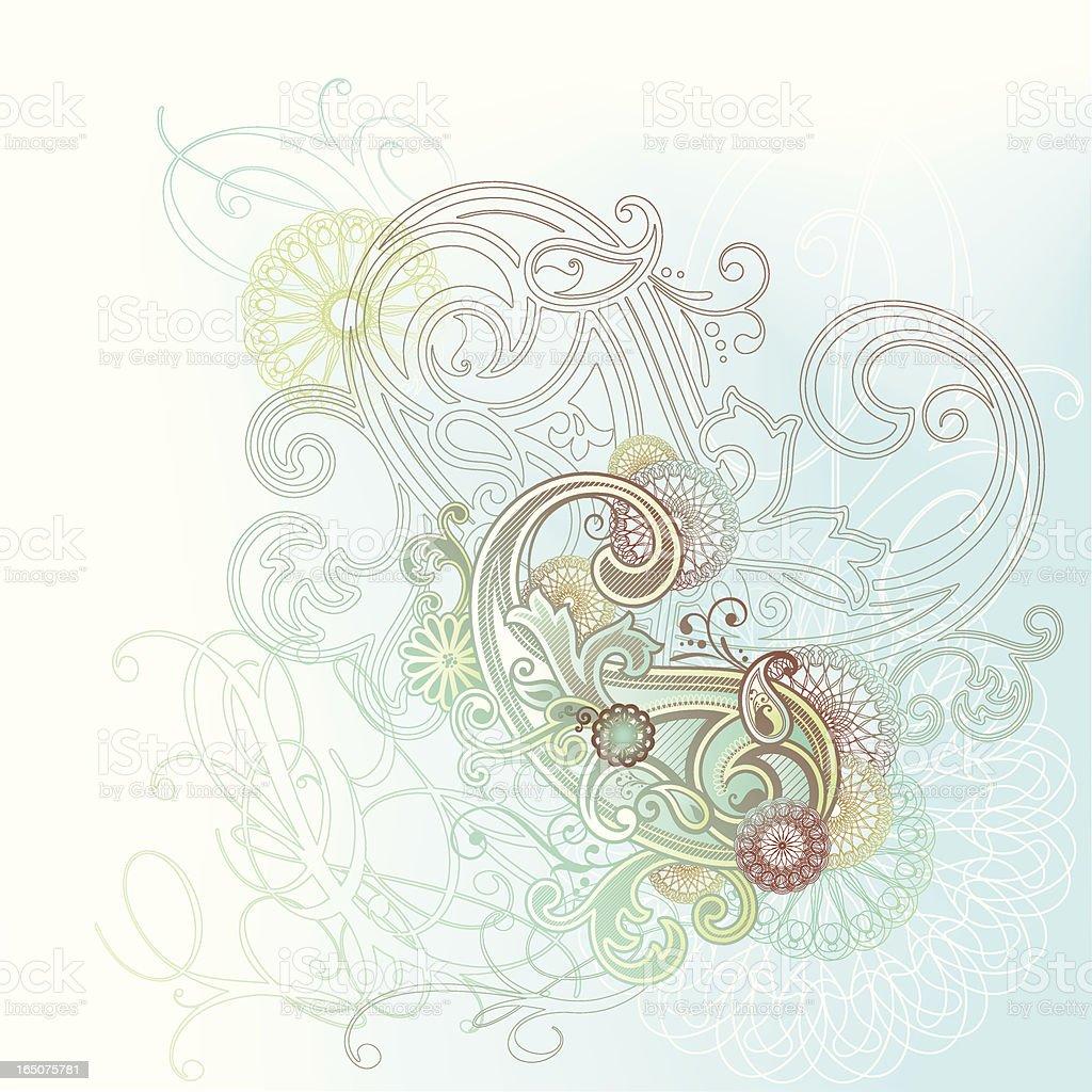 Paisley royalty-free stock vector art