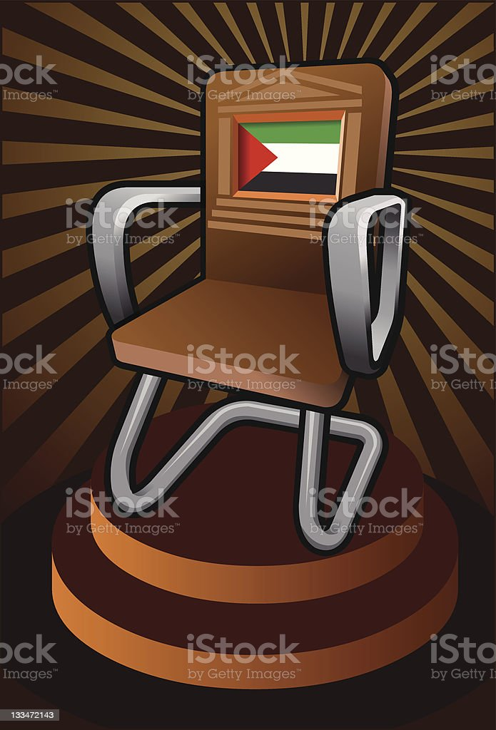 palestine for the seat on UNESCO stock photo