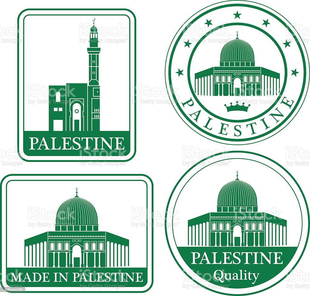 Palestine vector art illustration
