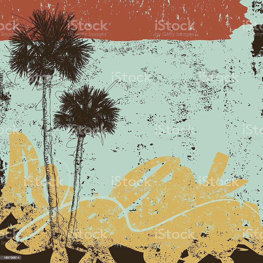 palm trees design royalty-free stock vector art