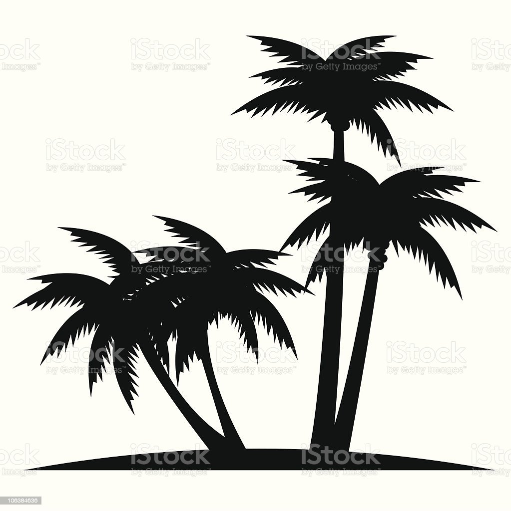 palms royalty-free stock vector art