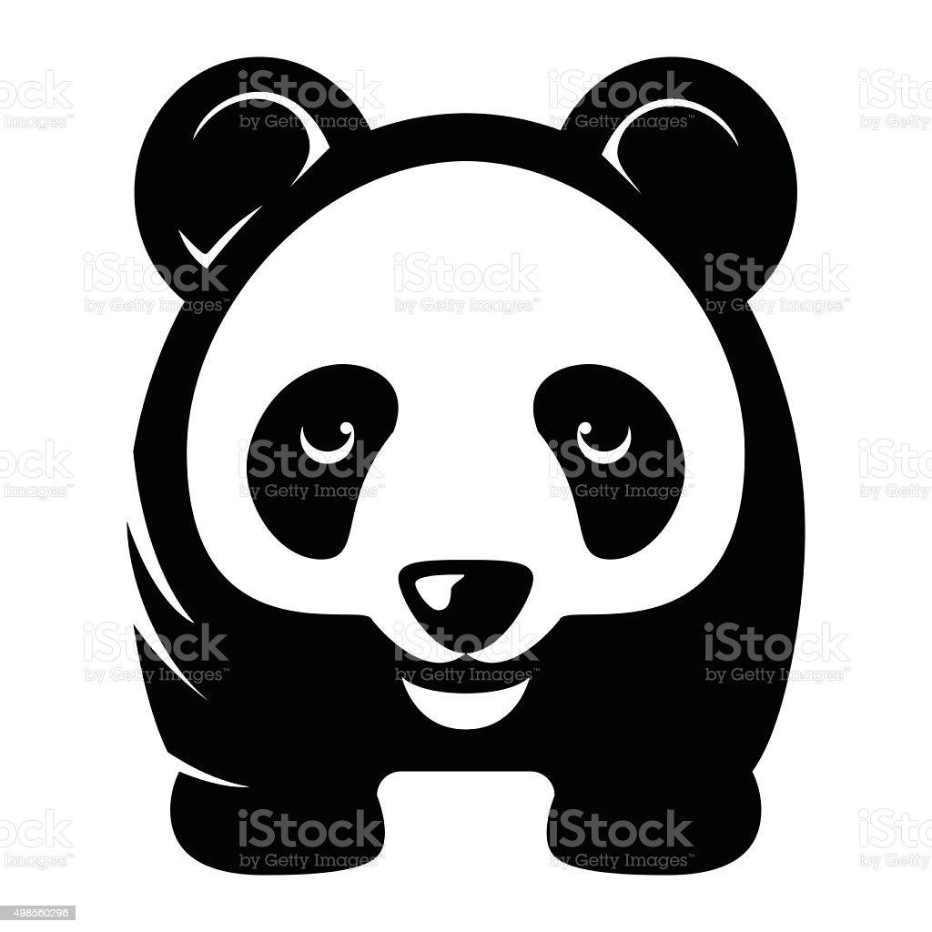 Panda illustration - VECTOR vector art illustration