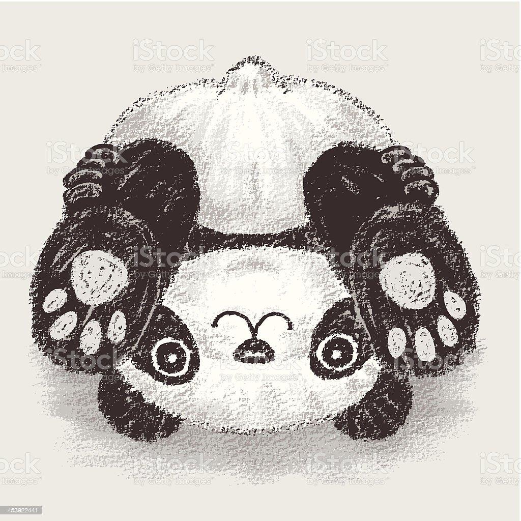 Upside Down Art Panda Upsidedown Stock Vector Art 453922441 Istock