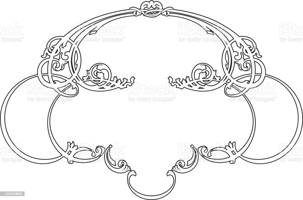 panel 12-29f royalty-free stock vector art