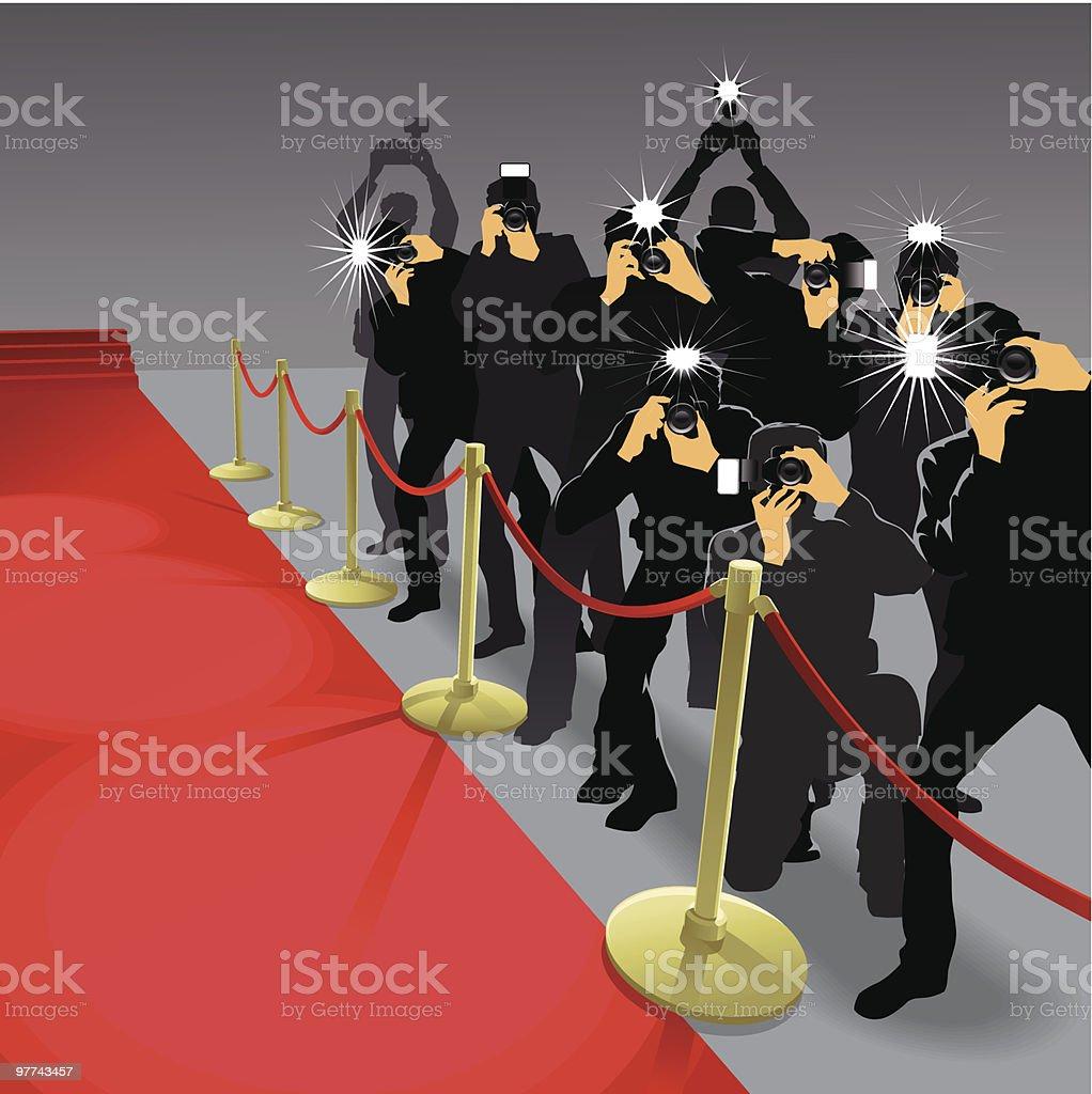 Paparazzi #2 royalty-free stock vector art