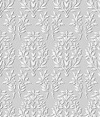 3D paper art 572 nature garden flower leaf