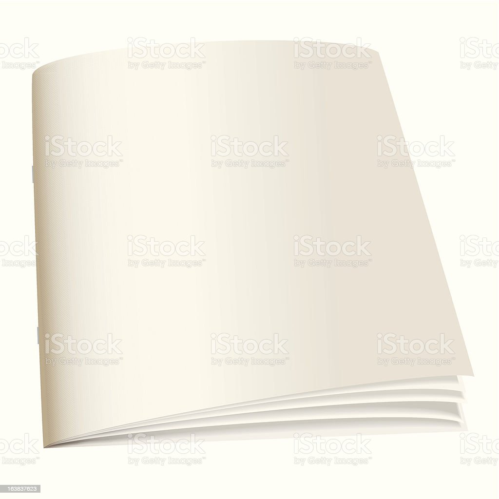 paper back book royalty-free stock vector art