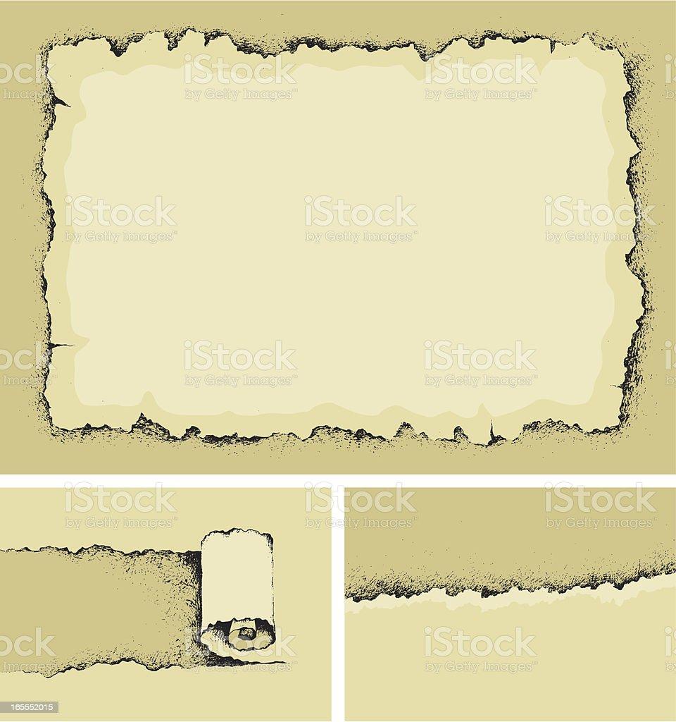 Paper background vector art illustration