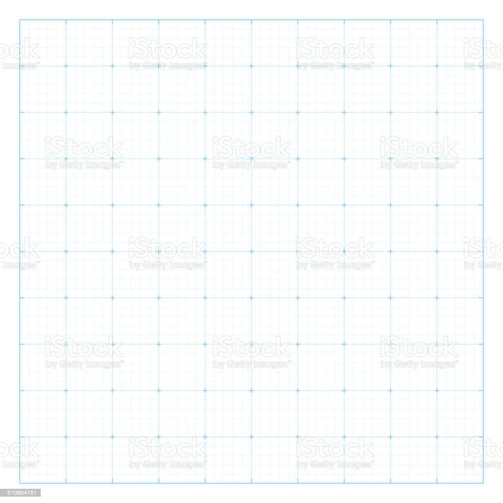 Paper blueprint background. vector art illustration