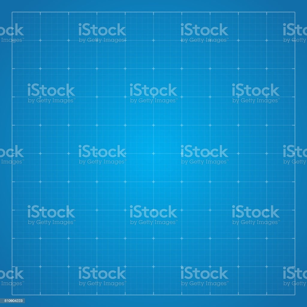 Paper blueprint background. vector art illustration