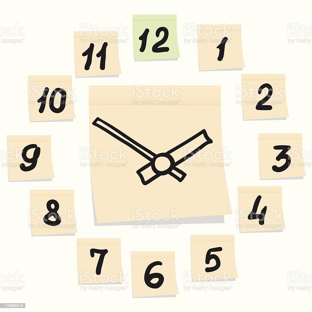 Модель циферблата часов для детей из бумаги своими руками 80