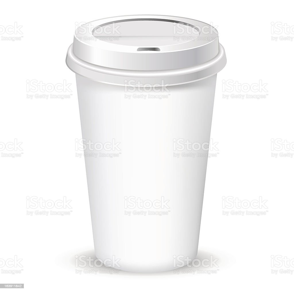 paper coffee cup royalty-free stock vector art