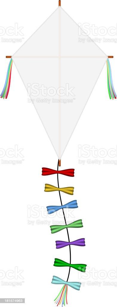 Paper kite royalty-free stock vector art