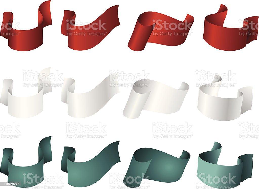 paper tape vector art illustration