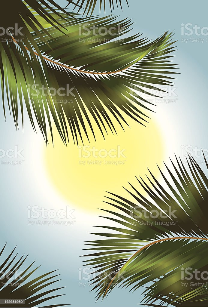 paradise royalty-free stock vector art