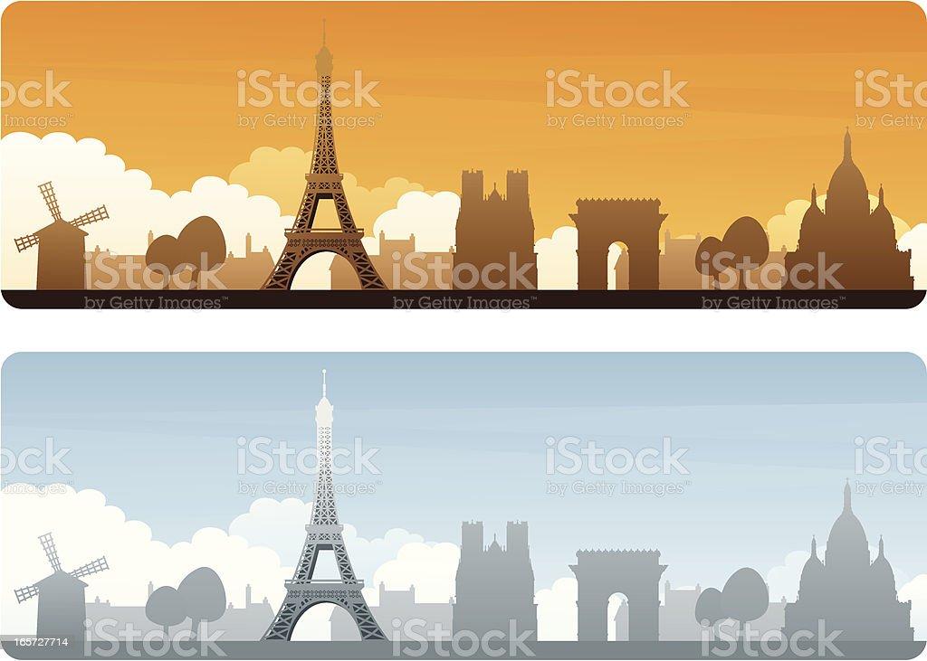 Paris Travel royalty-free stock vector art