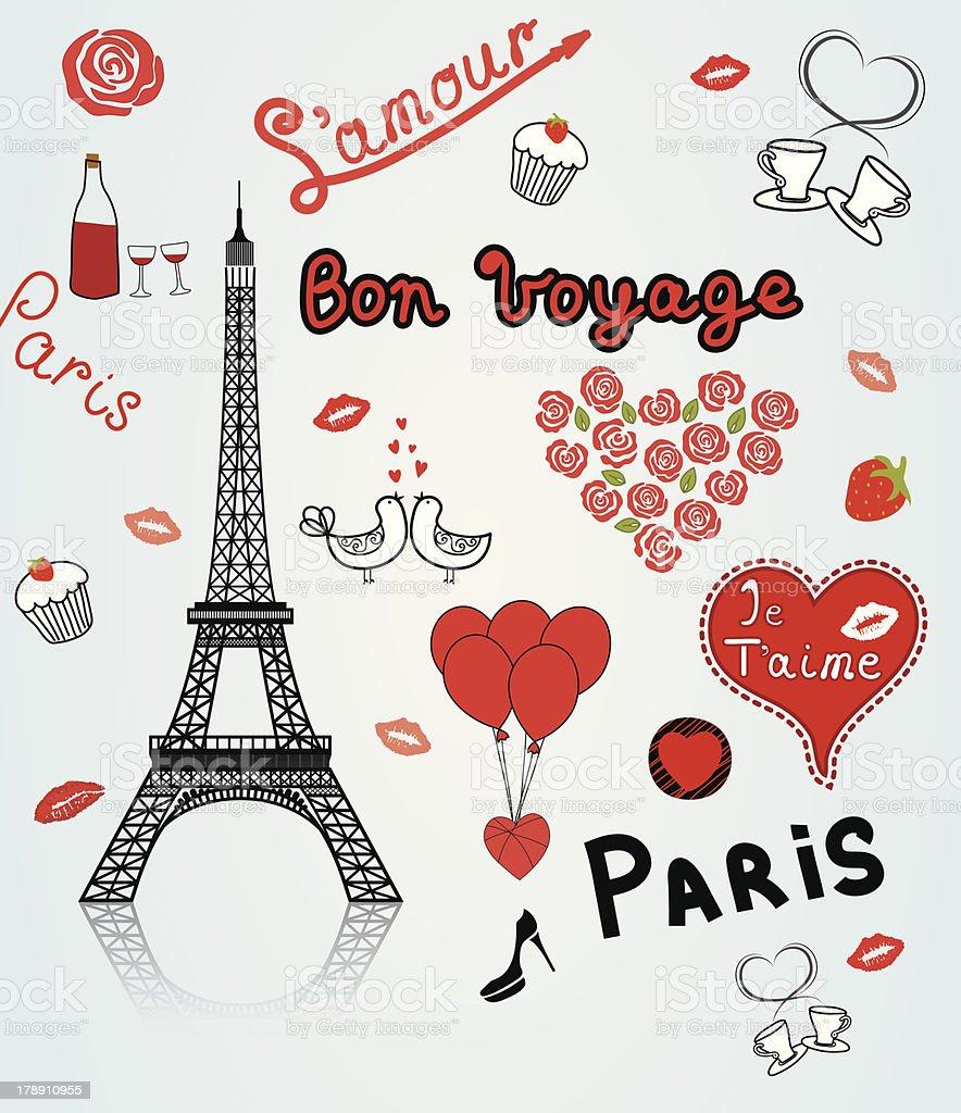 Paris royalty-free stock vector art