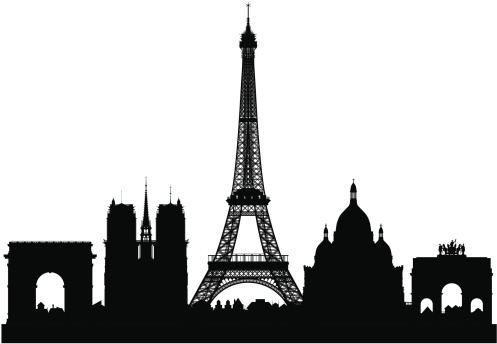 Paris France Clip Art, Vector Images & Illustrations - iStock