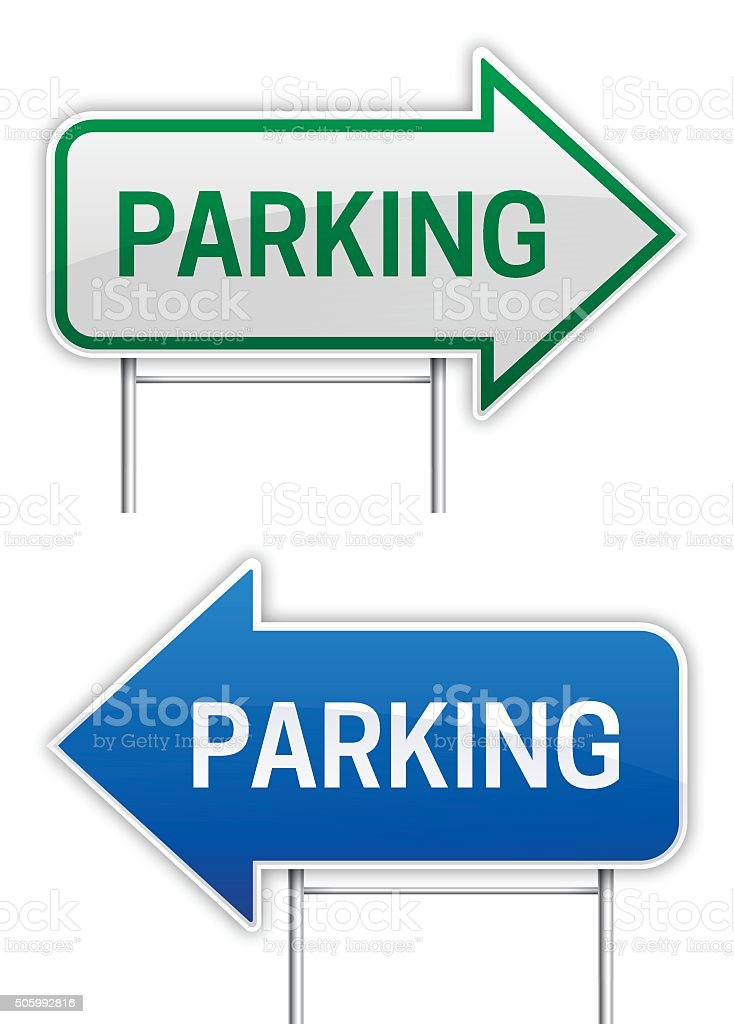 Parking Lot Clip Art, Vector Images & Illustrations - iStock