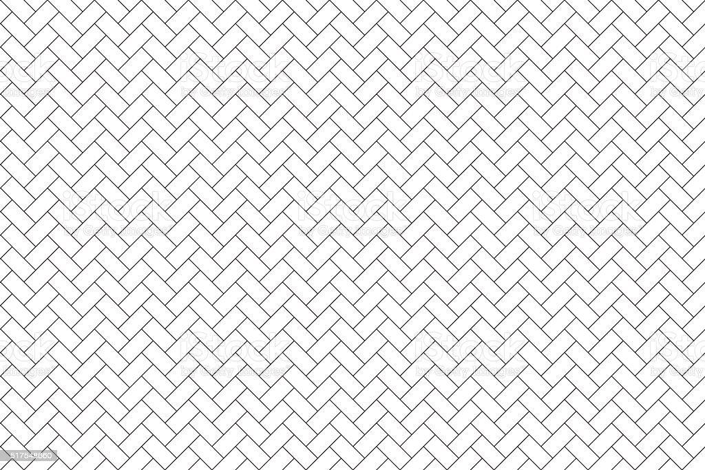 parquet diagonal seamless horizontal background vector art illustration