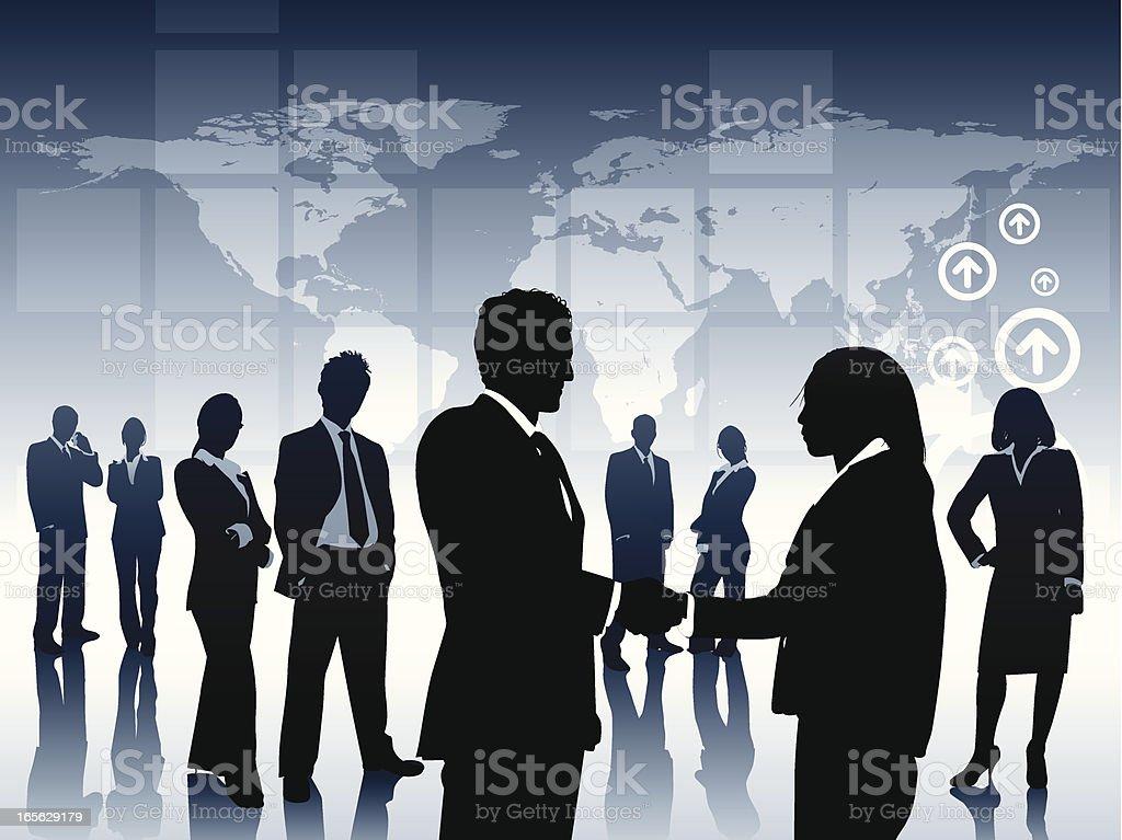 Partnership royalty-free stock vector art