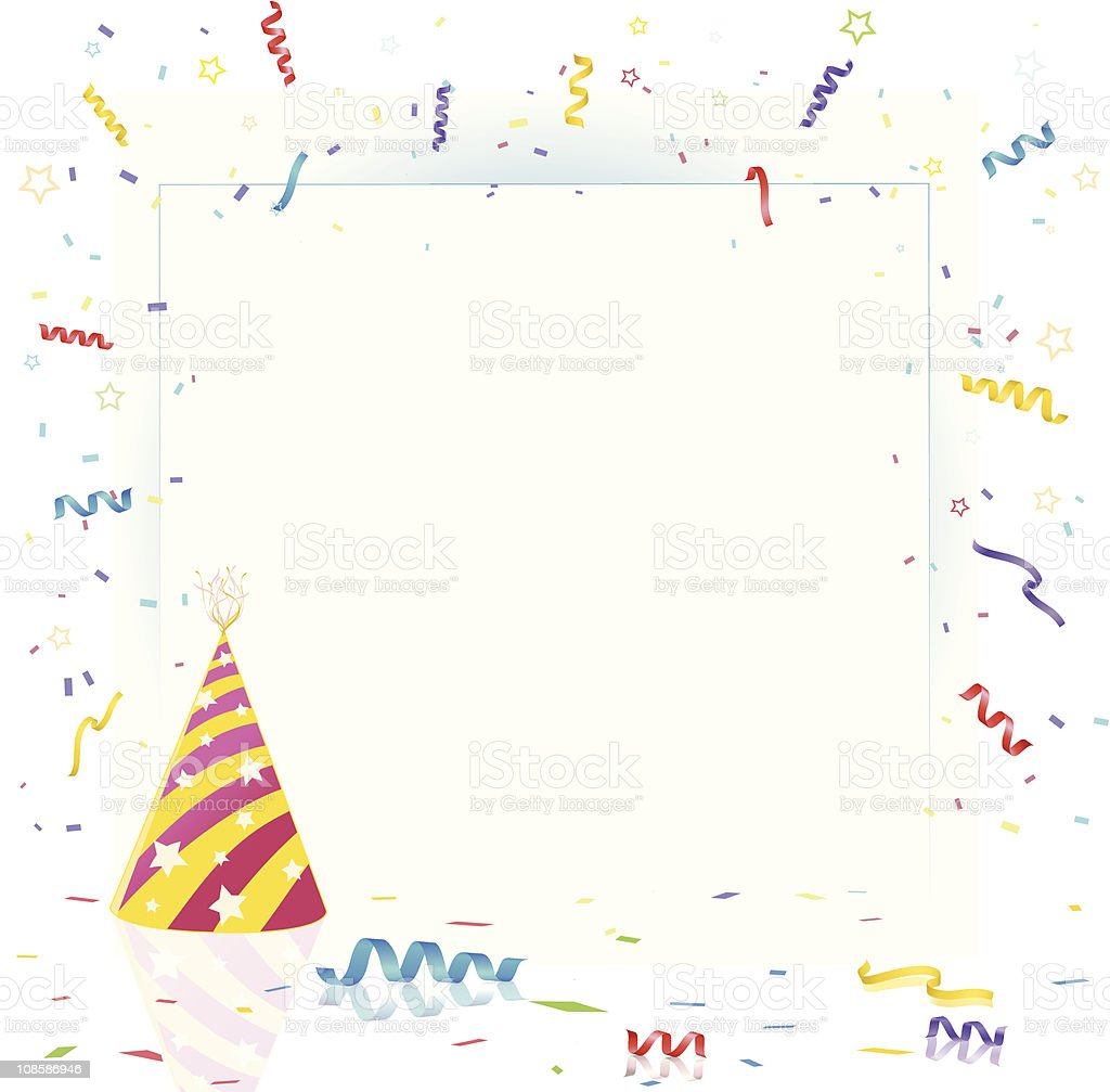 Party Background Card Design royalty-free stock vector art