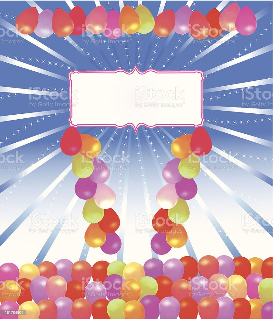 Party Celebration Greeting royalty-free stock vector art