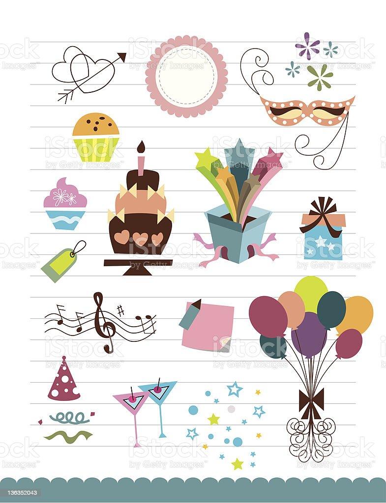 Party Celebration royalty-free stock vector art