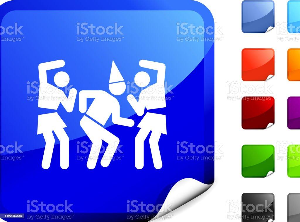 party, dancing internet royalty free vector art royalty-free stock vector art