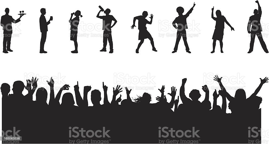 Party Elements royalty-free stock vector art