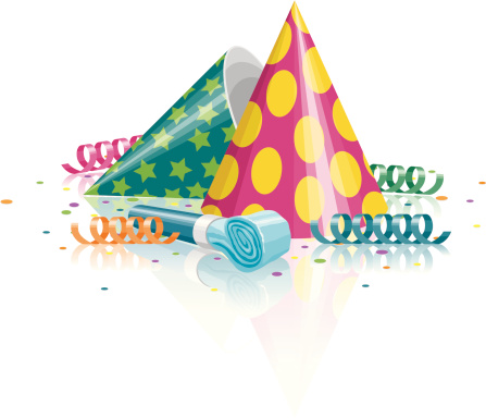 Party Horn Blower Clip Art, Vector Images & Illustrations ...
