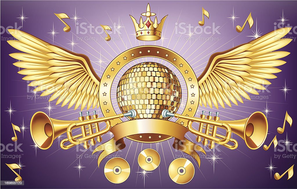 Party Insignia royalty-free stock vector art