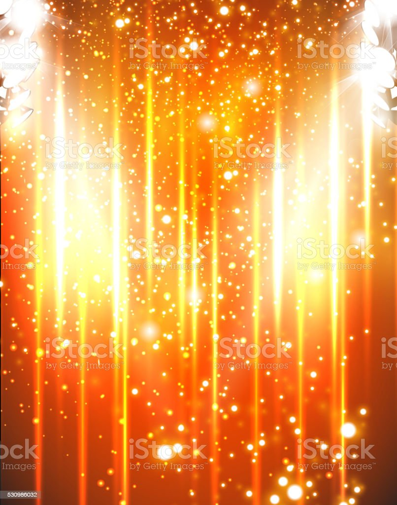 party light stage background vector art illustration