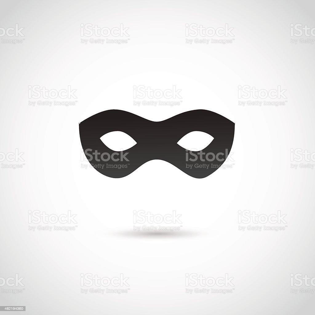 Party mask. vector art illustration