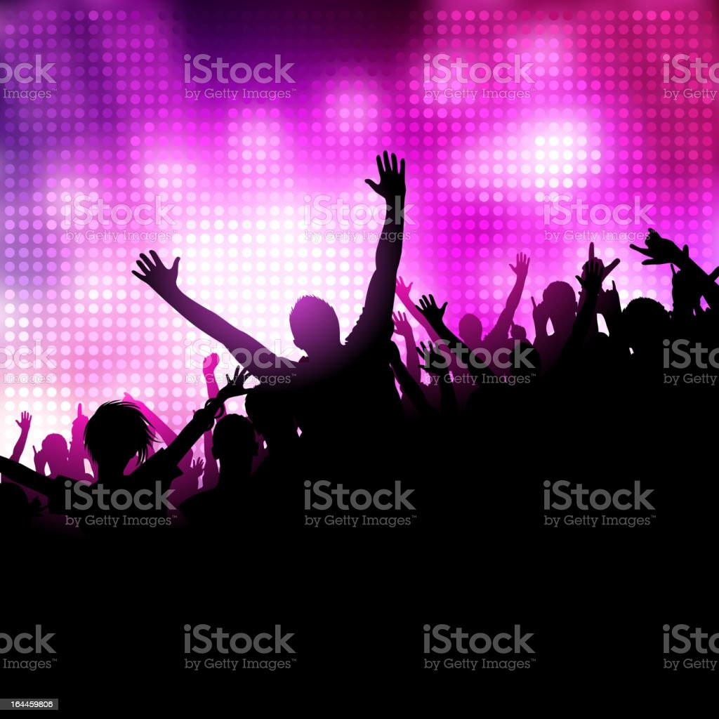 Party Music Vector vector art illustration