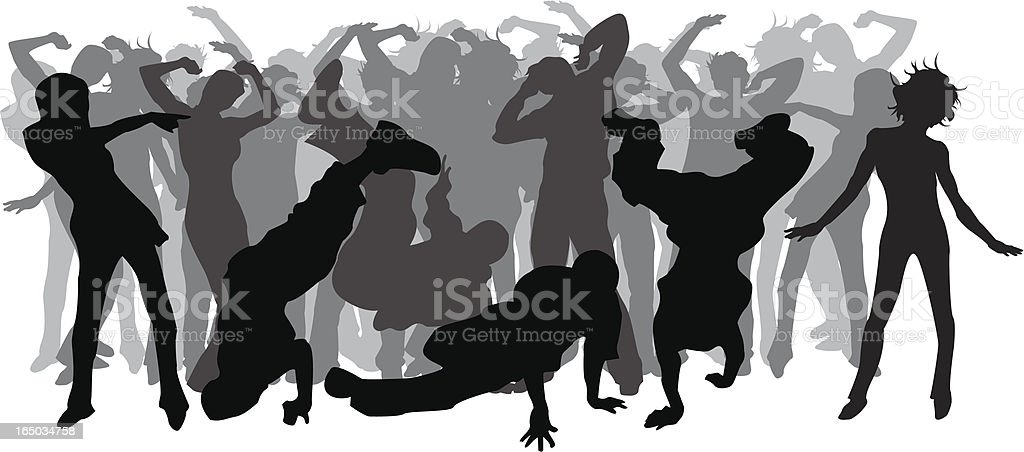 Party time 3! royalty-free stock vector art