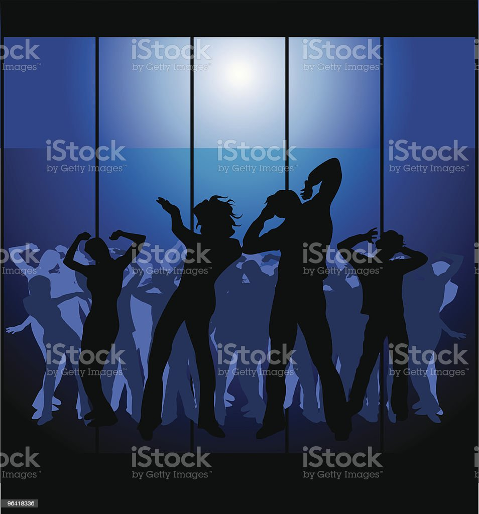 Party time 4! royalty-free stock vector art