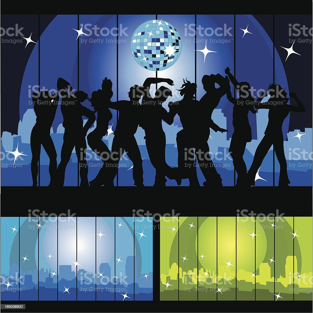 Party time 7! vector art illustration