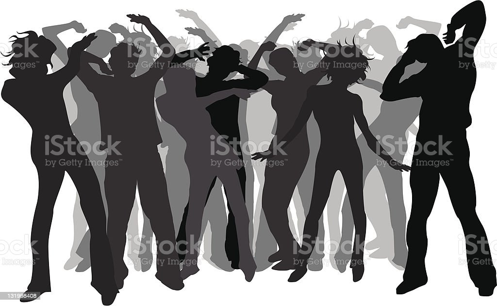 Party time! vector art illustration