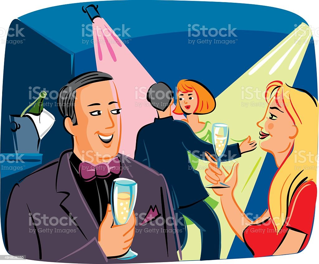 Party vector art illustration