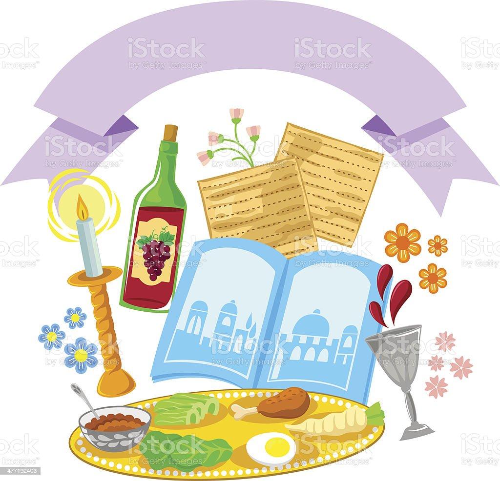 passover design vector art illustration