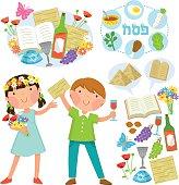 Passover illustrations