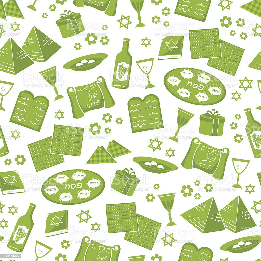 passover pattern royalty-free stock vector art