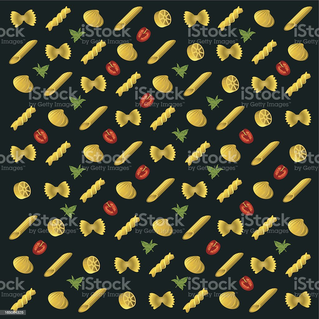 Pasta. royalty-free stock vector art