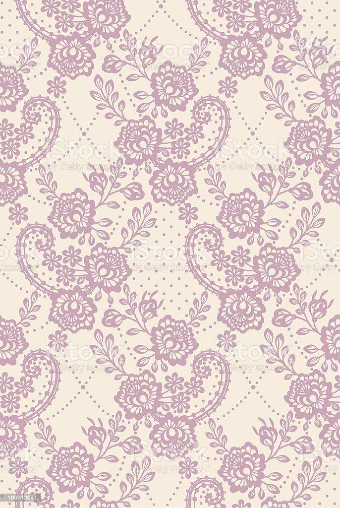 Pastel colored Seamless pattern vector art illustration