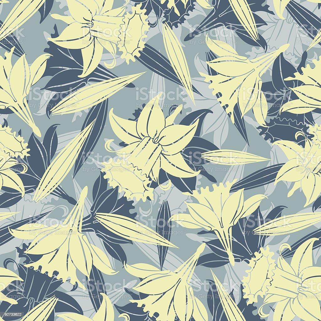 pastel flowers royalty-free stock vector art