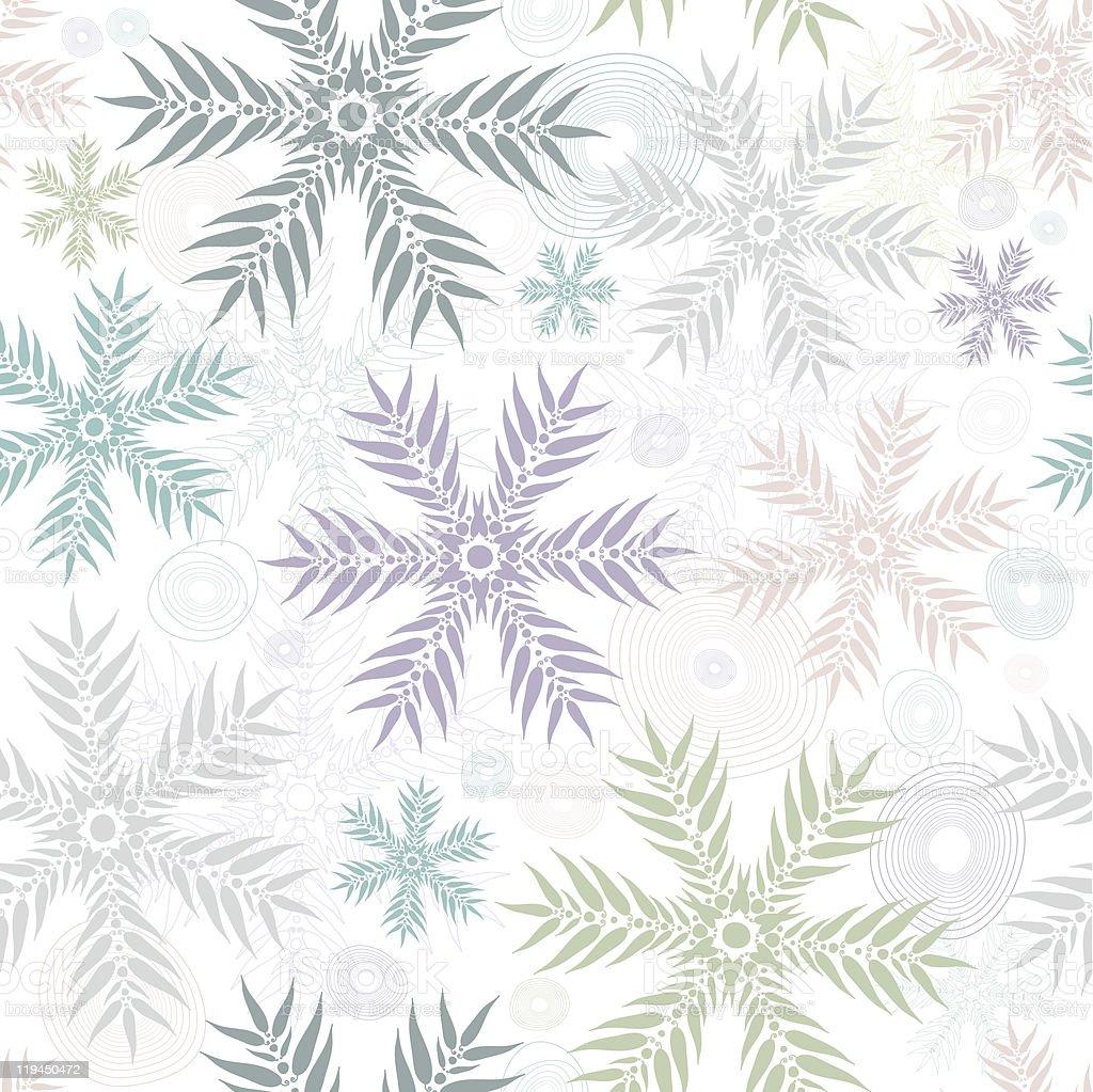 Pastel seamless gentle white pattern royalty-free stock vector art