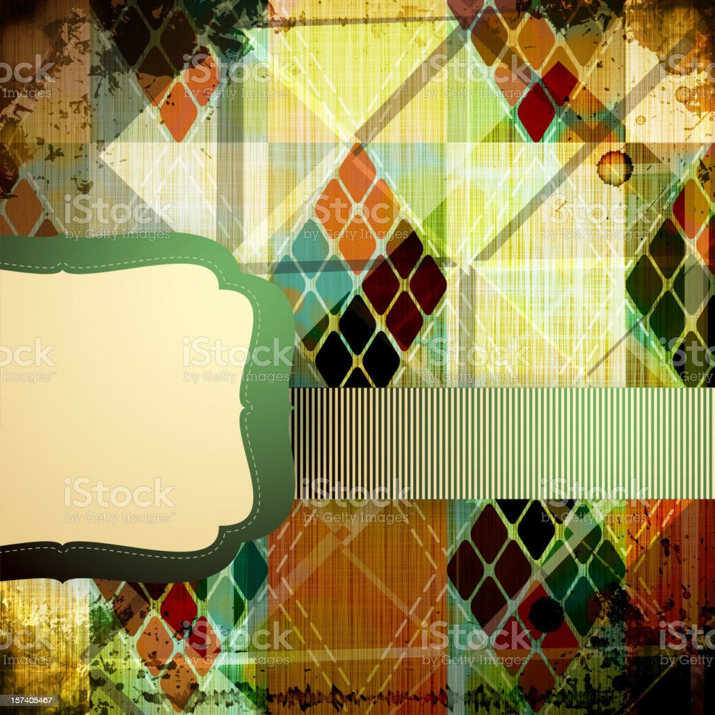 Patchwork background royalty-free stock vector art